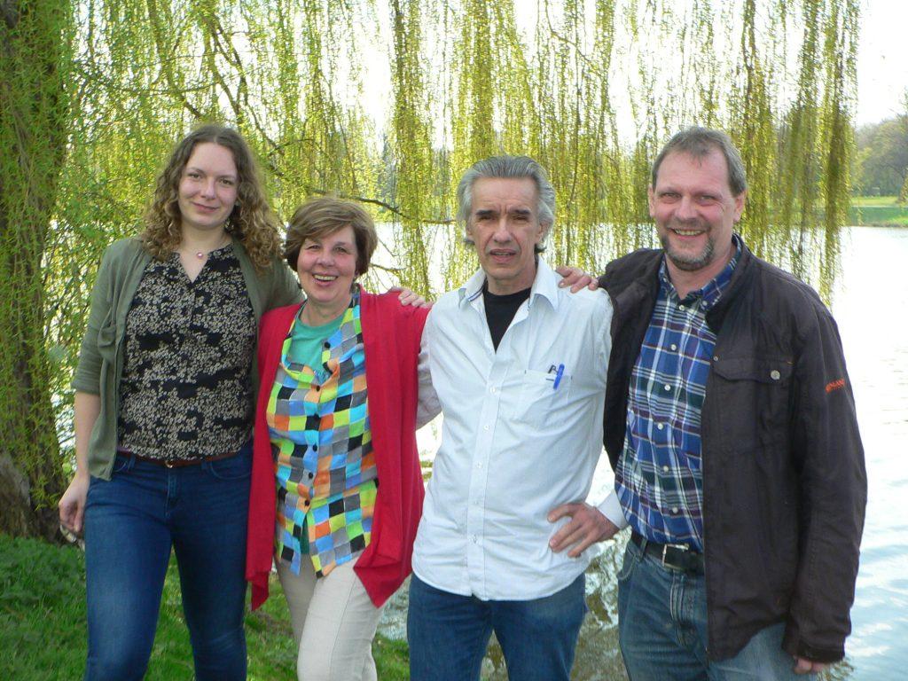 Juliane Hecke, Brigitte Thomas, Karlheinz Müller, Klaus Bösing