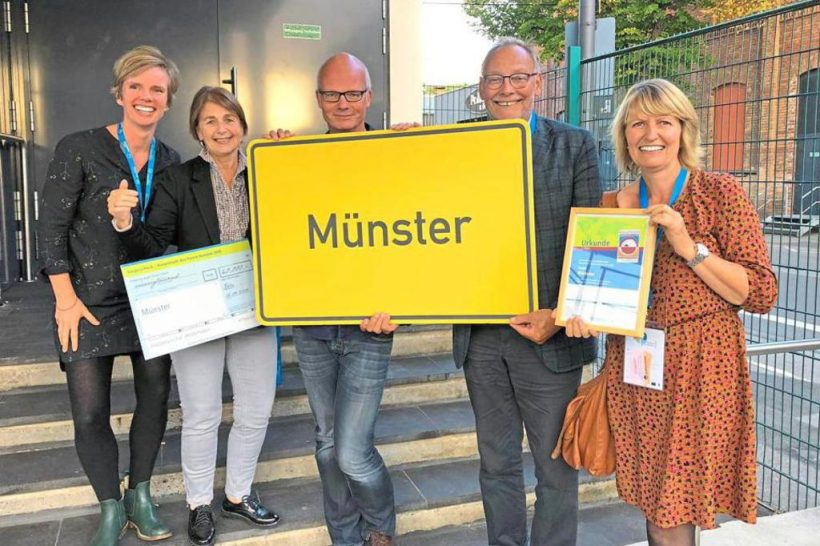 Münster ist Vize-Hauptstadt des Fairen Handels
