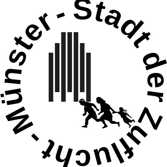 """Kunst-Aktion von """"Münster-Stadt der Zuflucht"""" am 15.11.2019 ab 14.30 auf dem Domplatz"""