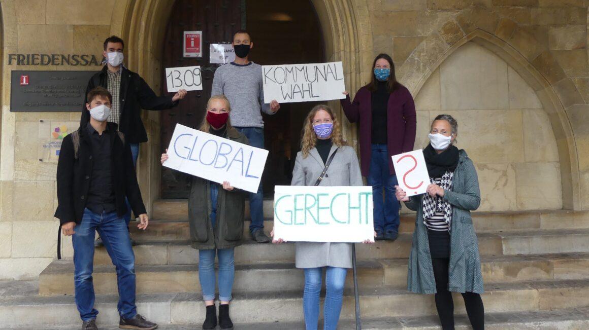 Kommunalwahlprüfsteine vergleichen Antworten der OB-Kandidaten in Punkto globale Gerechtigkeit